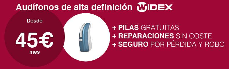 Oferta audífonos 45€ Santa Otilia Huelva