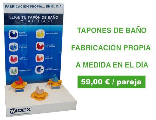 Tapones de baño a medida por 59€