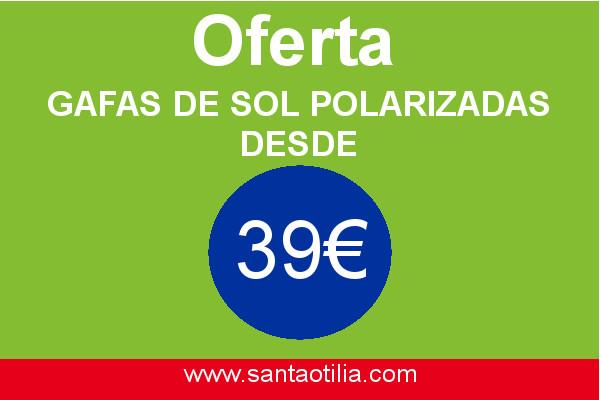 Gafas de sol polarizadas desde 39€