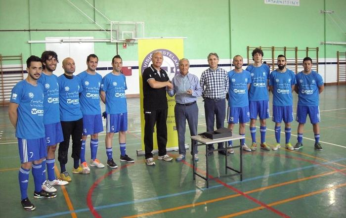 Premio Visión Estelar al Club Deportivo de Sordos de Huelva