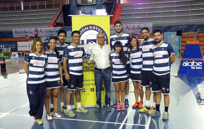 Entrega del V Permio Visión Estelar al Club de Badminton IES La Orden