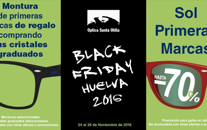 Black Friday llega a Santa Otilia
