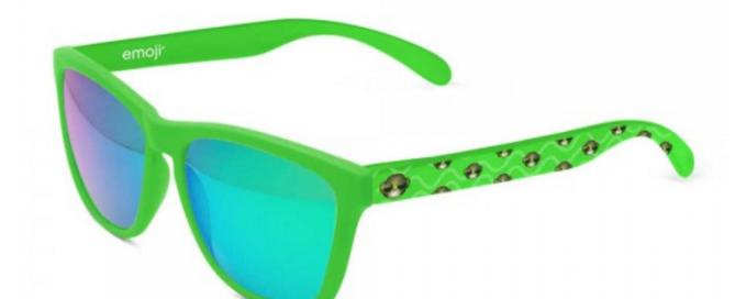 gafas emoji verde