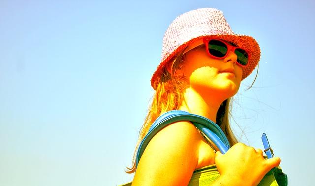 Protege la vista de tu hijo del sol