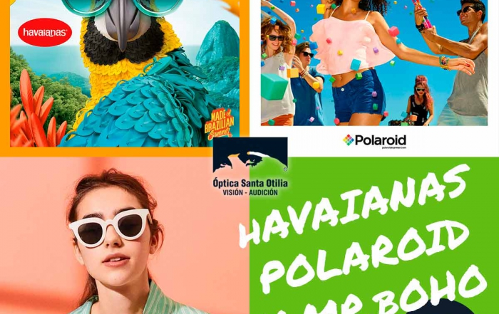 Gafas Havaianas, Polaroid o MR.BOHO desde 49€