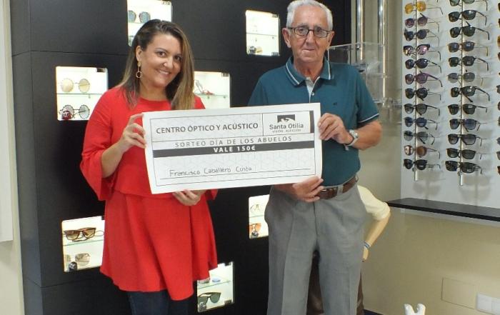 Ganador del sorteo «Día de los abuelos»